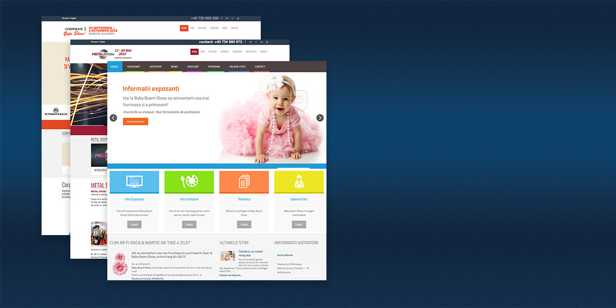 proiect baby boom show by online hub
